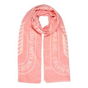 Calvin Klein Jeans Látková rouška  růžová / bílá