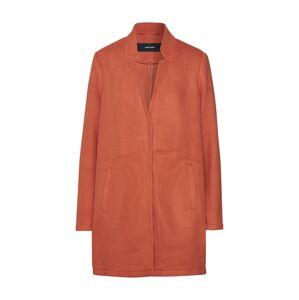 VERO MODA Přechodný kabát 'VMBRUSHEDKATRINE'  oranžově červená