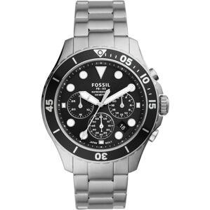 FOSSIL Analogové hodinky  stříbrná
