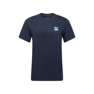 HELLY HANSEN Funkční tričko  námořnická modř / bílá / modrá