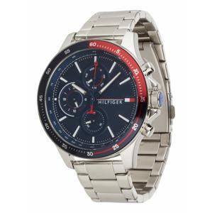 TOMMY HILFIGER Analogové hodinky  marine modrá / stříbrná