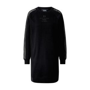Karl Lagerfeld Šaty  černá