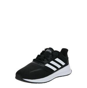 ADIDAS PERFORMANCE Sportovní boty 'Runfalcon'  černá / bílá