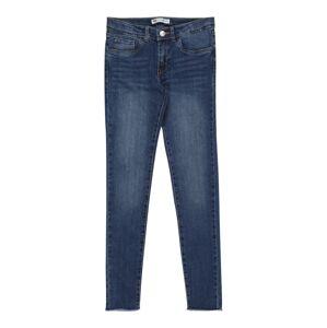 LEVI'S Džíny '710 Super Skinny Ankle'  modrá džínovina