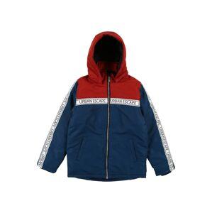 NAME IT Přechodná bunda 'Max'  tmavě modrá / červená / bílá