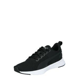 PUMA Sportovní boty 'Flyer Runner Jr'  černá / bílá