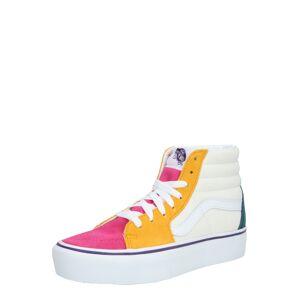 VANS Kotníkové tenisky 'UA SK8-Hi Platform 2.0'  bílá / pink / mix barev