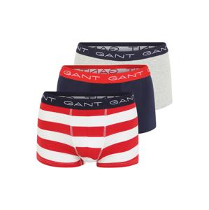 GANT Boxerky 'RUGBY'  červená / námořnická modř / bílá