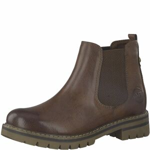 MARCO TOZZI Chelsea boty  hnědá / čokoládová