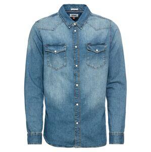 Tommy Jeans Košile  modrá džínovina