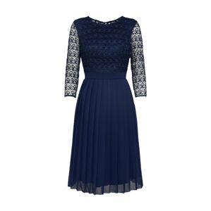 Chi Chi London Koktejlové šaty  námořnická modř
