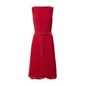 Lauren Ralph Lauren Koktejlové šaty 'FLORIN'  červená
