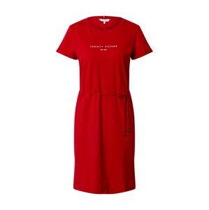 TOMMY HILFIGER Společenské šaty  červená