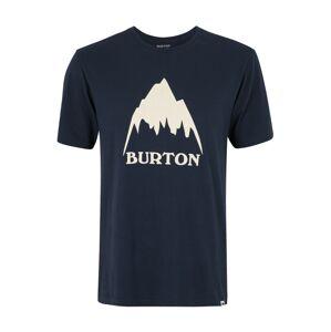BURTON Funkční tričko 'Mountain'  bílá / tmavě modrá