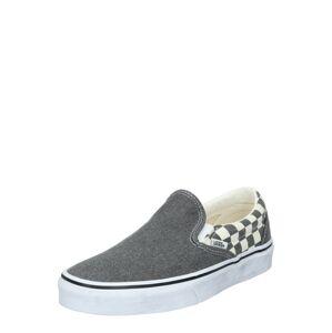 VANS Slip on boty  šedá / bílá