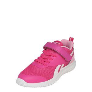 REEBOK Sportovní boty 'RUSH RUNNER'  bílá / světle růžová / pink