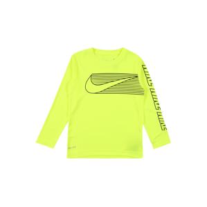 Nike Sportswear Tričko 'DOMINATE SWOOSH'  světle zelená / černá