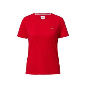 Tommy Jeans Tričko  červená