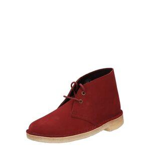 Clarks Originals Šněrovací boty  červená