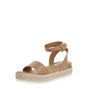 STEVE MADDEN Páskové sandály 'CHASER'  krémová / béžová