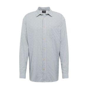 JACK & JONES Košile 'BLUJACOB'  modrá / bílá