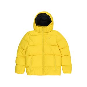 TOMMY HILFIGER Zimní bunda  žlutá