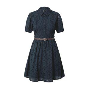 VERO MODA Košilové šaty  tmavě modrá