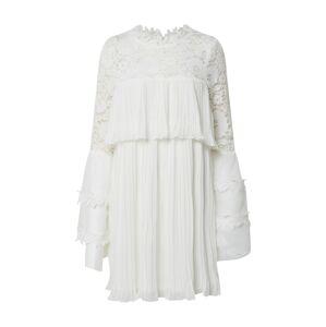 Forever Unique Košilové šaty  slonová kost