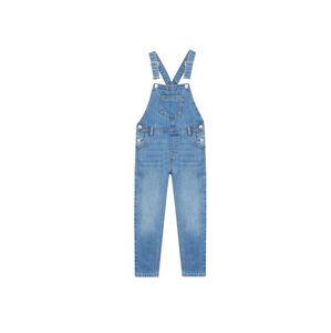 MANGO KIDS Laclové kalhoty 'Amara'  kobaltová modř
