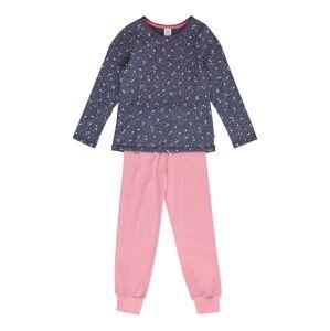 SANETTA Pyžamo  světle růžová / indigo / bílá / pink