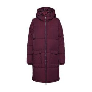 OBJECT Zimní kabát 'ZHANNA'  vínově červená