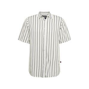 Denim Project Košile 'Grande S/S'  bílá / černá