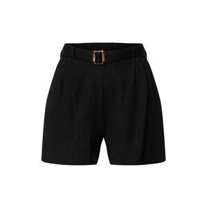 ONLY Kalhoty se sklady v pase 'NOMA'  černá