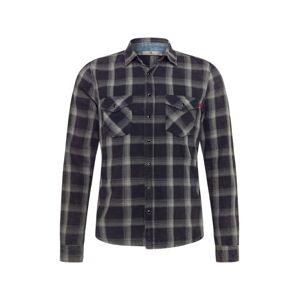 LTB Košile 'LAMONT'  tmavě šedá