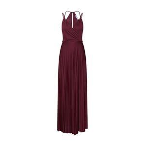 ABOUT YOU Letní šaty 'Falda'  tmavě červená