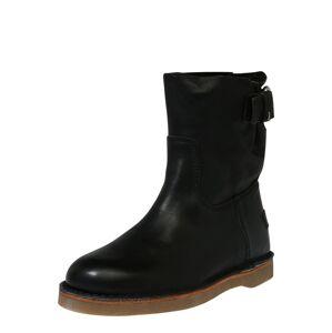SHABBIES AMSTERDAM Kotníkové boty  černá