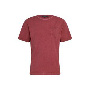 tigha Tričko 'Alessio'  vínově červená