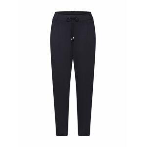 EDC BY ESPRIT Kalhoty se sklady v pase  černá