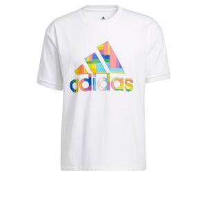 ADIDAS PERFORMANCE Funkční tričko  bílá / mix barev