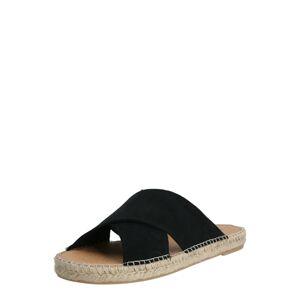 espadrij l´originale Pantofle 'Croisette'  černá