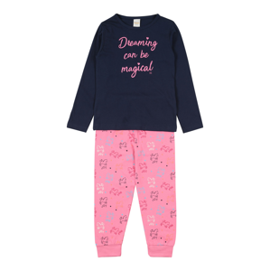 STACCATO Pyžamo  pink / tmavě modrá