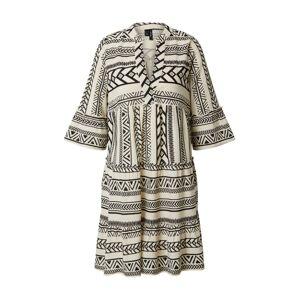 VERO MODA Letní šaty 'Dicthe'  černá / offwhite