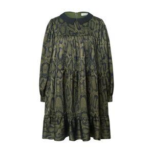 Molly BRACKEN Šaty 'Star'  khaki / tmavě zelená