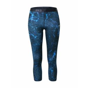 4F Sportovní kalhoty  tmavě modrá / světlemodrá