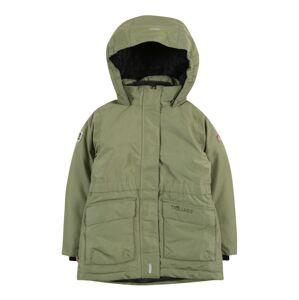 TROLLKIDS Outdoorová bunda 'Alesund'  khaki