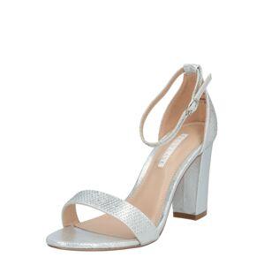 Dorothy Perkins Páskové sandály  stříbrná
