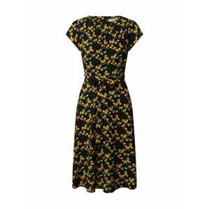 Dorothy Perkins Šaty  černá / oranžová