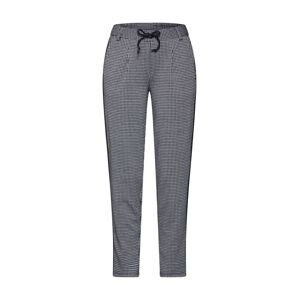 TOM TAILOR DENIM Chino kalhoty  bílá / šedá / černá