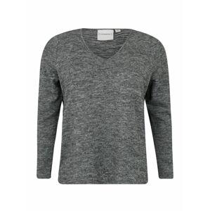 Junarose Tričko 'ASRA'  šedý melír