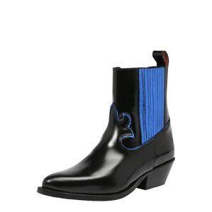 SCOTCH & SODA Kovbojské boty 'Corall'  černá / modrá